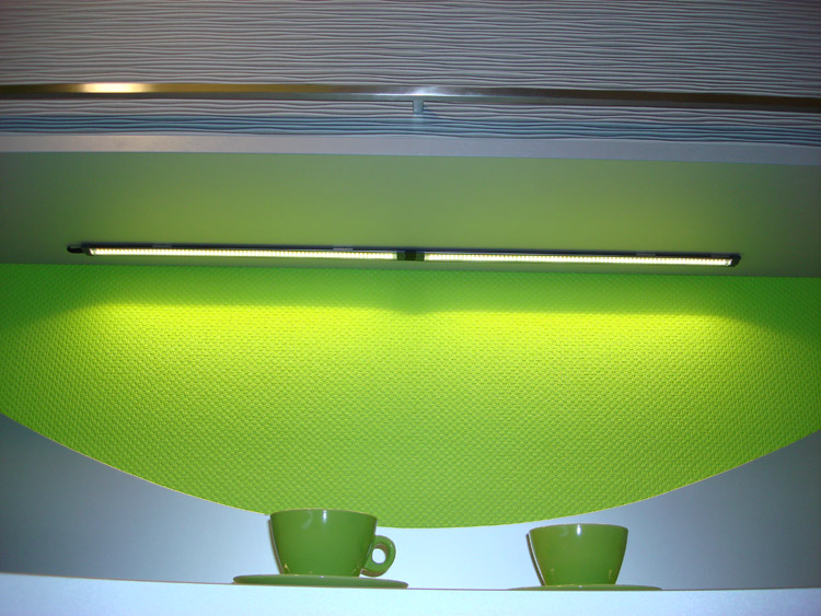 led unterbauleuchte k chen leuchte lampe schrankleuchte ebay. Black Bedroom Furniture Sets. Home Design Ideas