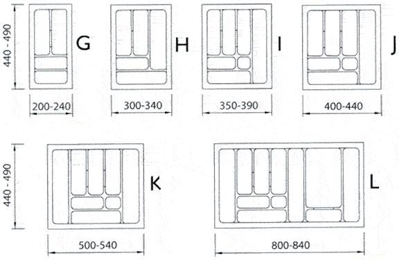besteckeinsatz f r jedes ma bestecke schublade einlage ebay. Black Bedroom Furniture Sets. Home Design Ideas