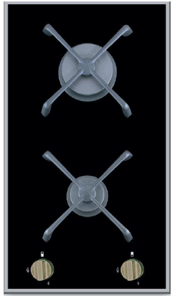teka gaskochfeld autark 30cm gks 300 einbau gas kochfeld auch fl ssiggas domino ebay. Black Bedroom Furniture Sets. Home Design Ideas