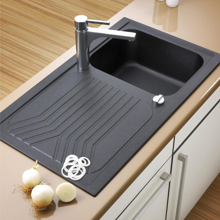 Design Granit Spüle Teka Oceano 40 B-TG Einbauspüle Spülbecken ... | {Waschbecken küche granit 3}