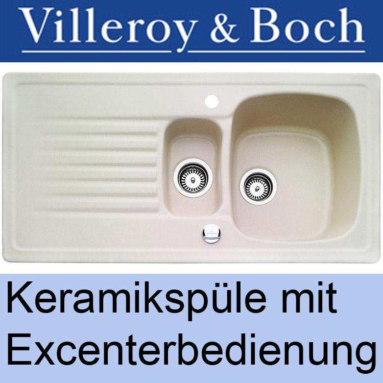 villeroy & boch keramikspüle einbauspüle keramik spüle  ebay ~ Spülbecken Keramik Villeroy & Boch